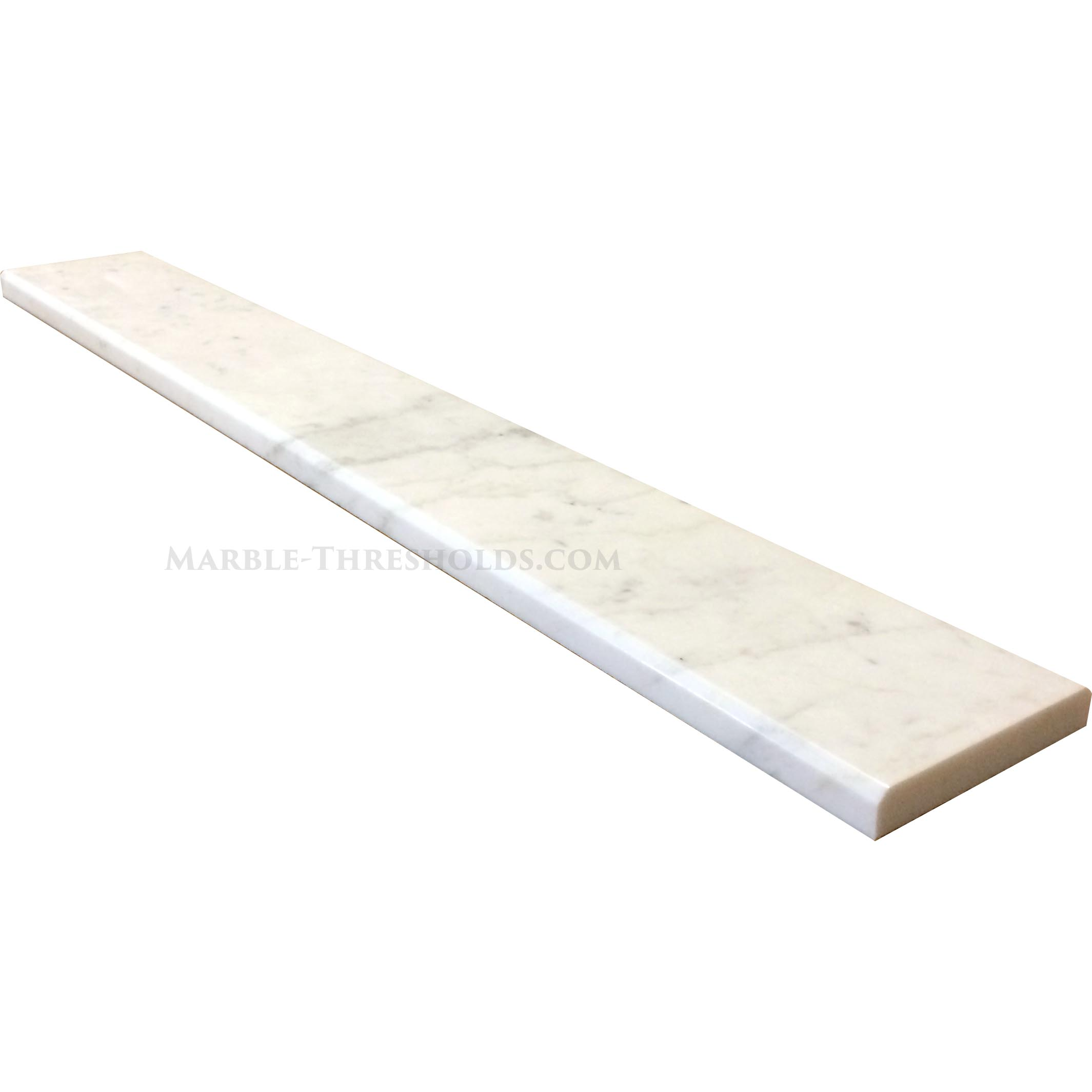 calacatta gold marble threshold