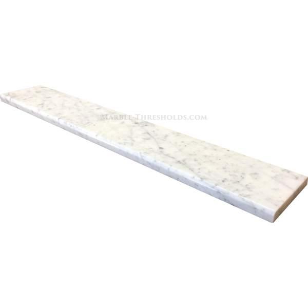 White Carrara Marble Threshold
