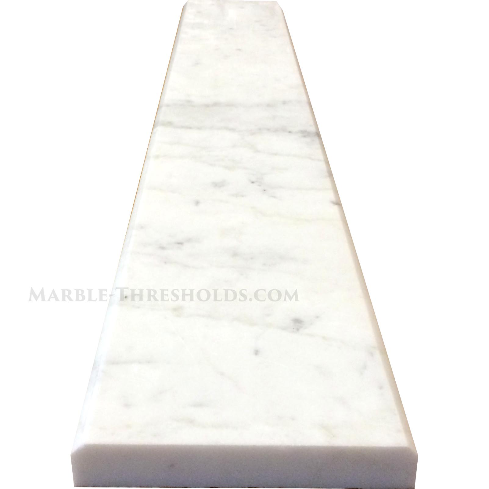 Calacatta Gold Marble Saddle  sc 1 st  Marble Thresholds & Calacatta Gold Marble Saddles and Door Thresholds - Size 36 x 4 x 3/4