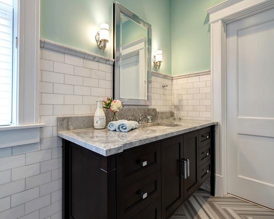 "Photo credit <a href=""https://www.houzz.com/photos/3246985/University-City-traditional-bathroom-st-louis"" rel=""nofollow"">Joni Spear on Houzz.com</a>."