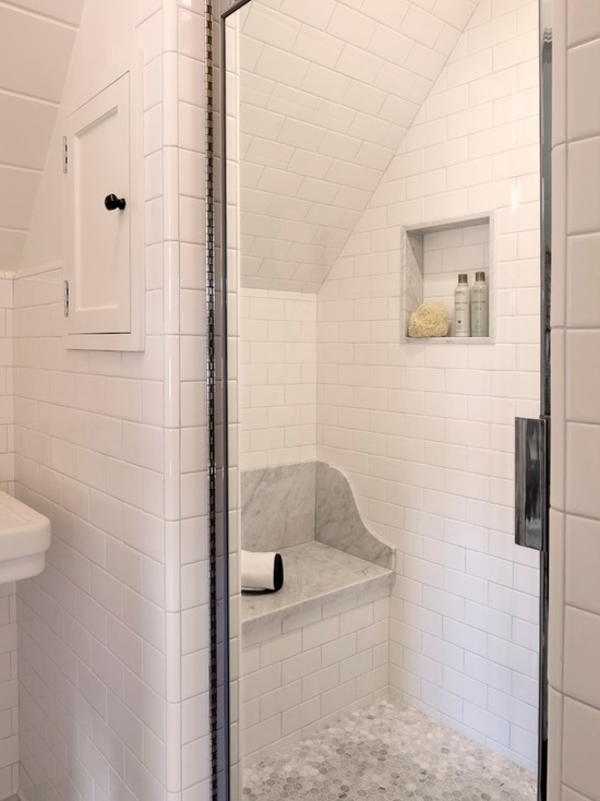 "Photo credit <a href=""https://www.houzz.com/photos/28524081/El-Camino-Del-Mar-Laguna-Beach-traditional-bathroom-orange-county"">Clark Collins, Houzz.com</a>."